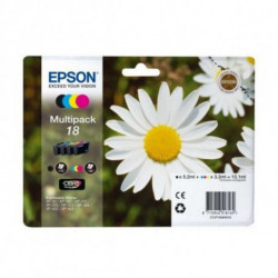 Epson Daisy Multipack 4-colours 18 Claria Home Ink C13T18064020