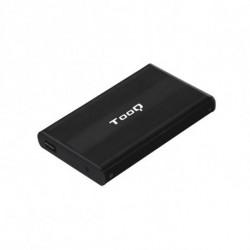 TooQ CAJA HDD 2.5 SATA A USB 2.0 NEGRA TQE-2510B