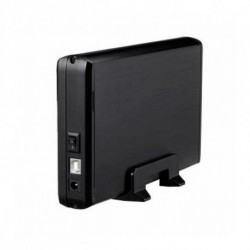 TooQ TQE-3509B contenitore di unità di archiviazione 3.5 Enclosure HDD Nero