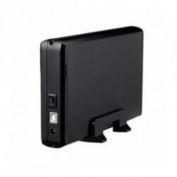 TooQ CAJA HDD 3,5 SATA A USB 2.0 NEGRA TQE-3509B