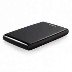 TooQ TQE-2526B Boîtier de disques de stockage 2.5 Boîtier HDD Noir Alimenté par port USB