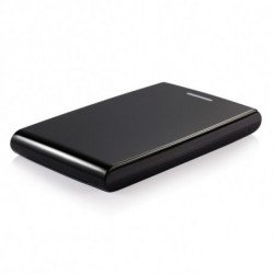TooQ TQE-2526B Caixa para Discos Rígidos 2.5 Caixa de disco rígido Preto Energia por USB