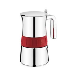 BRA Italienische Kaffeemaschine A170566 (4 kopper) Edelstahl