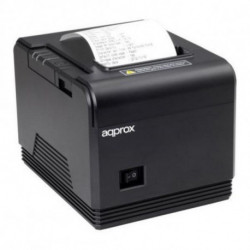 approx! Stampante di Scontrini appPOS80AM USB Nero