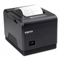 approx! Impresora de Tickets appPOS80AM3 USB/Ethernet Negro