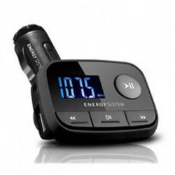 Energy Sistem Lettore MP3 per Auto 384600 FM LCD SD / SD-HC (32 GB) USB Nero