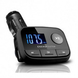 Energy Sistem Reproductor MP3 para Coche 384600 FM LCD SD / SD-HC (32 GB) USB Negro