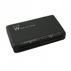 Ewent EW1050 lector de tarjeta Negro USB 2.0