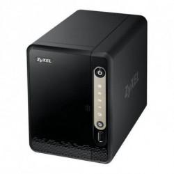 Zyxel NAS326 Eingebauter Ethernet-Anschluss Mini Tower Schwarz NAS NAS326-EU0101F