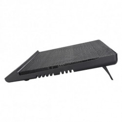 Tacens Supra Notebook-Kühlpad 44,2 cm (17.4 Zoll) Schwarz 4SUPRA