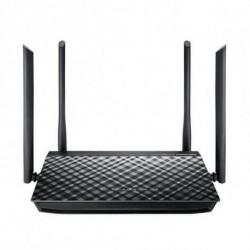 ASUS RT-AC1200G+ wireless router Dual-band (2.4 GHz / 5 GHz) Gigabit Ethernet Black 90IG0241-BM3000