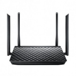 ASUS RT-AC1200G+ WLAN-Router Dual-Band (2,4 GHz/5 GHz) Gigabit Ethernet Schwarz 90IG0241-BM3000