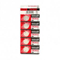 Maxell Pilas de Botón de Litio CR2032 3 V