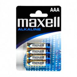 Maxell Piles Alcalines LR03-MN2400 AAA 1,5 V
