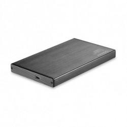 TooQ TQE-2527B Boîtier de disques de stockage 2.5 Boîtier HDD Noir