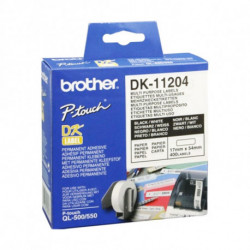 Brother Etiquetas precortadas multipropósito (papel térmico) DK-11204