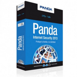 Panda Internet Security 2013 3 licence(s) 1 année(s) A12IS13
