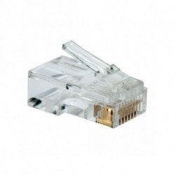 NANOCABLE Conector RJ45 Categoria 5 UTP 10.21.0101 10 pcs Cinzento