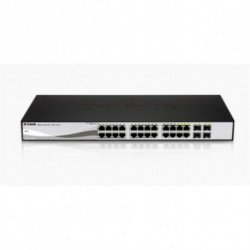 D-Link DGS-1210-24 Netzwerk-Switch Managed L2 Schwarz