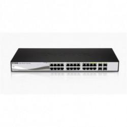 D-Link DGS-1210-24 switch di rete Gestito L2 Nero