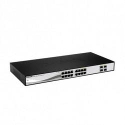 D-Link DGS-1210-16 switch di rete Gestito L2 Nero