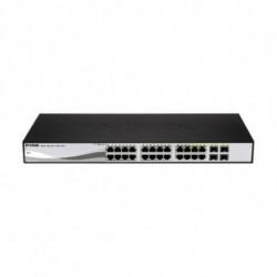 D-Link DGS-1210-24P switch di rete L2 Gigabit Ethernet (10/100/1000) Nero