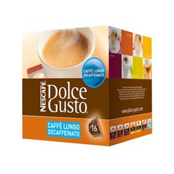 Coffee Capsules Nescafé Dolce Gusto 94331 Caffè Lungo Decaffeinato (16 uds)