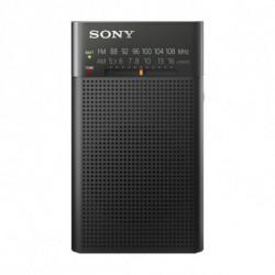 Sony ICF-P26 radio Portátil Analógica Negro ICFP26