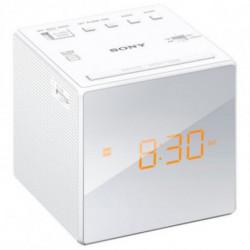 Sony Radiowecker ICFC1W Weiß