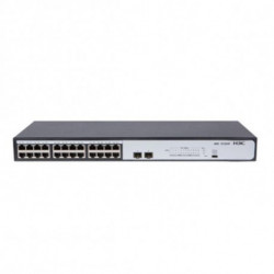 H3C Switch 9801AOSW 24 p 10 / 100 / 1000 Mbps 2 x SFP