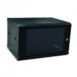 WP Wall-mounted Rack CabinetN-RWB-06605- 6 U 600 x 500 x 370 mm Black