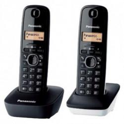 Panasonic Wireless Phone KX-TG1612SP1 Black White (2 pcs)