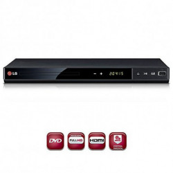 LG DP542H DVD player Schwarz DP542H.EESPLLX