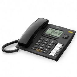 Alcatel Teléfono Fijo Versatis T76 DECT LED Negro