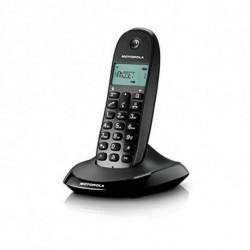 Motorola C1001L Téléphone DECT Noir Identification de l'appelant 107C1001LB