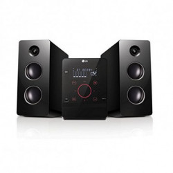 LG CM2760 home audio set Home audio micro system Black 160 W