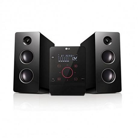 LG CM2760 set audio da casa Microsistema audio per la casa Nero 160 W