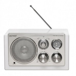 Denver Electronics TR-61WHITEMK2 Radio portable Numérique Blanc 111101000233