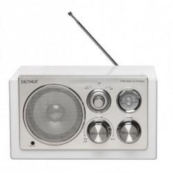 Denver Electronics TR-61WHITEMK2 Radio Tragbar Digital Weiß 111101000233