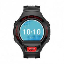 Alcatel Smartwatch GO Onetouch 1.22 Negro Rojo Oscuro