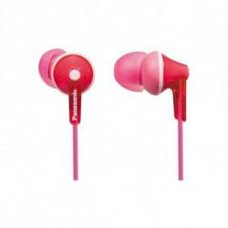 Panasonic Auriculares RP-HJE125E in-ear Cor de rosa