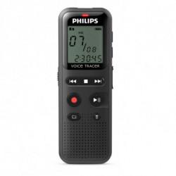 Philips DVT1150 dictaphone Mémoire interne Noir