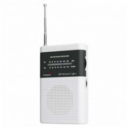 Brigmton BT-350-B radio Portable Digital Grey,White