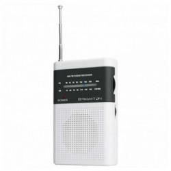 Brigmton BT-350-B radio Portatile Digitale Grigio, Bianco
