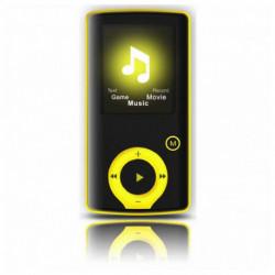 Brigmton BPA-81 Leitor MP4 Preto, Amarelo 8 GB BPA-81-Y