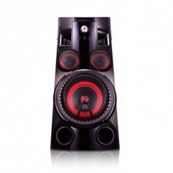 LG OM5560 home audio set Home audio mini system Black 500 W