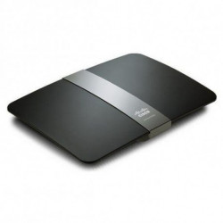 Linksys E4200 wireless router Gigabit Ethernet Black E4200-EZ
