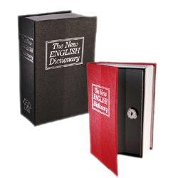 Caja de Caudales Camuflada en Libro Diccionario Gadget and Gifts Rojo