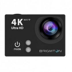 Brigmton BSC-9HD4K caméra pour sports d'action 4K Ultra HD 12 MP Wifi 64 g