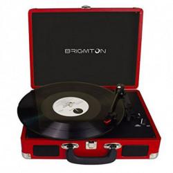 Brigmton BTC-404-R tocadisco Rojo